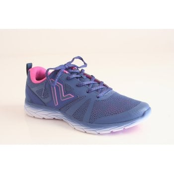 "Vionic trainer style ""Miles"" in indigo blue fabric.  (NT5)"